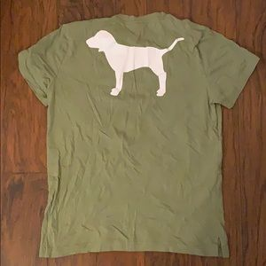 Victoria's Secret PINK Campus Tee Shirt DOG